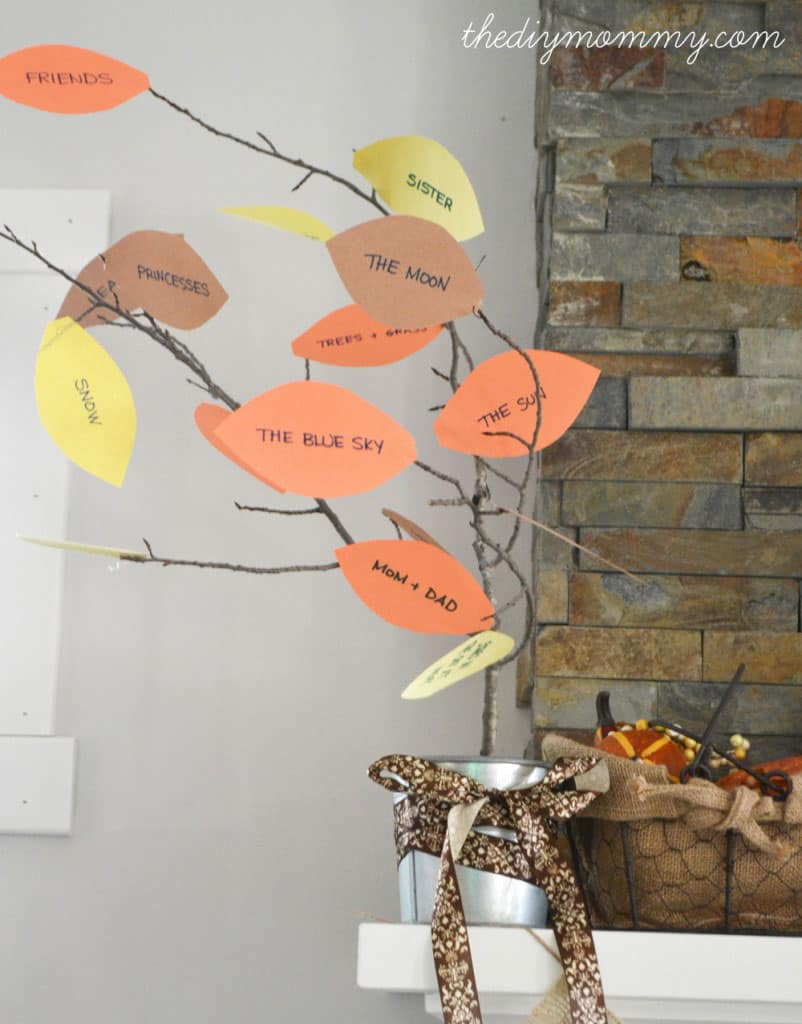 15 terrific kids 39 thanksgiving crafts for Thankful tree craft for kids