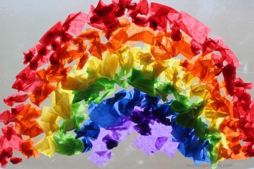 12 Vibrant Rainbow Art Projects