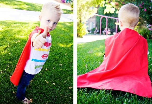 superman cape toddler