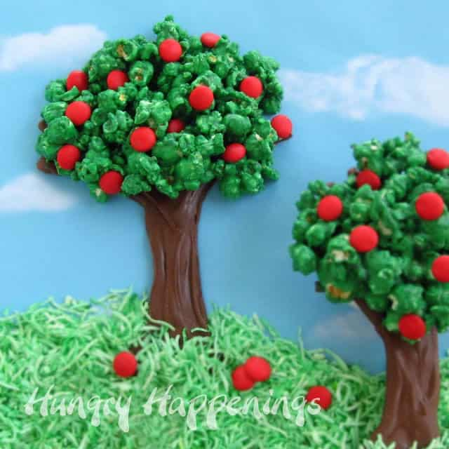 Edible Spring Trees Via Hungry Happenings If You Cant Tell What This Landscape Is Made From Its Because It Does An Amazing Job Of Disguise