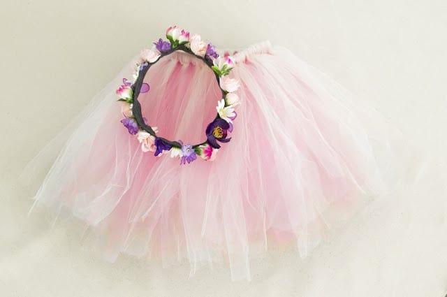 Flower Costume For Kids Homemade