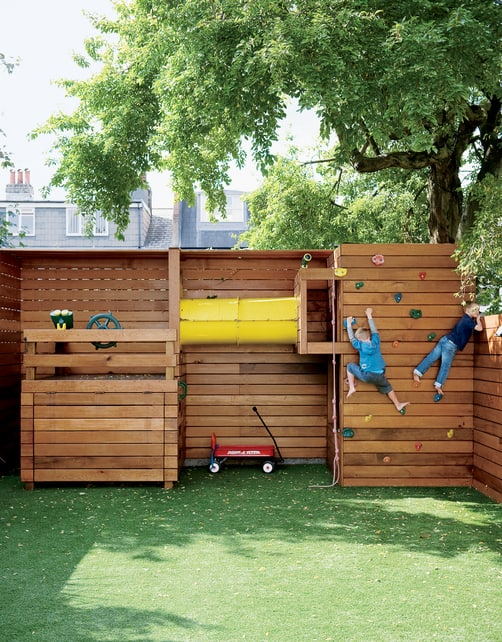 These kid-sized retreats take into account today's designs and modern  manufacturing that result in some pretty jaw-dropping playhouses for kids. - 10 FASCINATING MODERN PLAYHOUSES