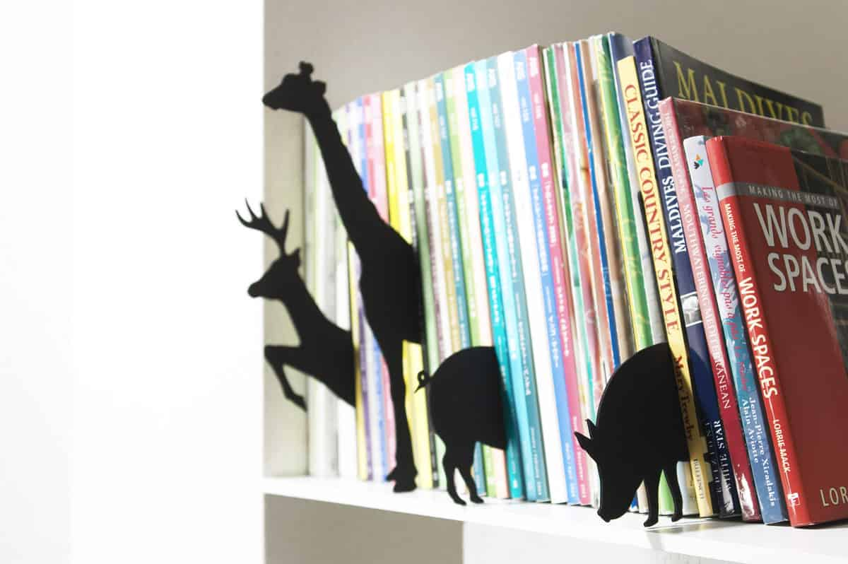10 Creative Ways To Display Books