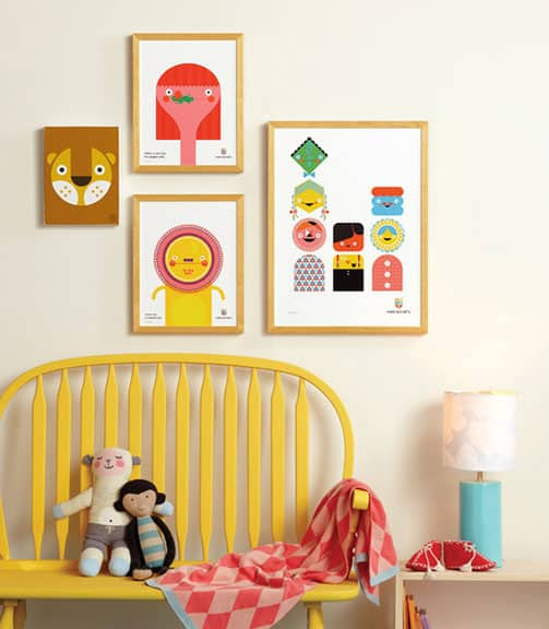 Wee Society Art Prints With Over 150 Designs Available, This Collection Of  Playful Prints Has Options For Everyone. These Feature Bright, Happy Prints  ...