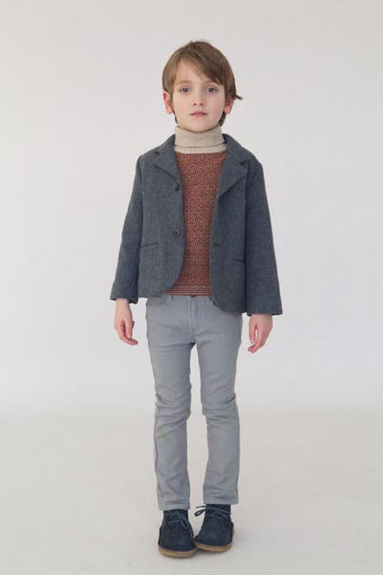 Simple Classic European Kids Style