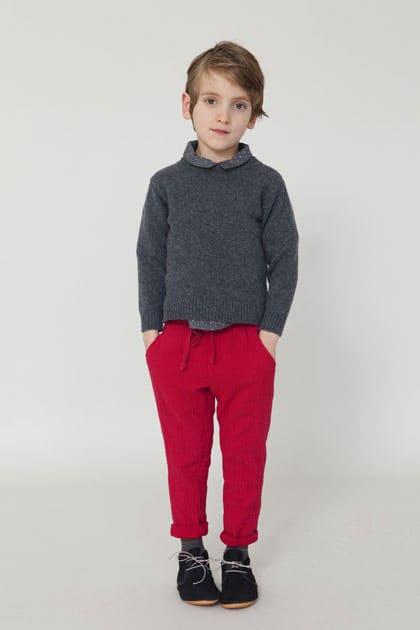 Simple Classic European Kids Style