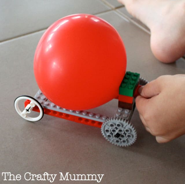 Balloon Powered Car Best Wheels