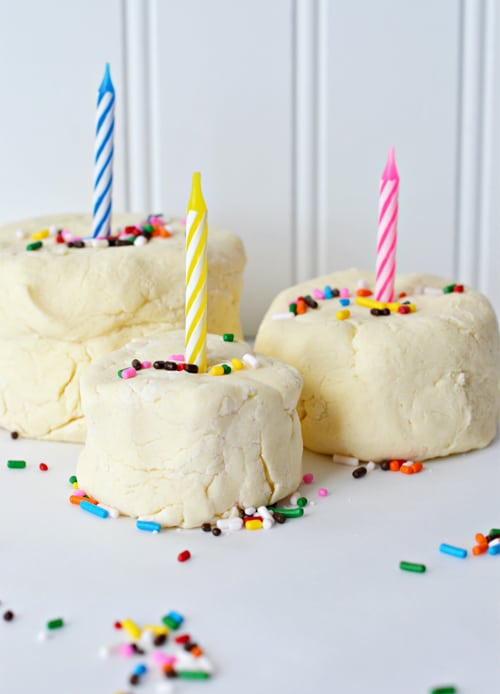 Strange Make Edible Birthday Cake Play Dough Funny Birthday Cards Online Alyptdamsfinfo