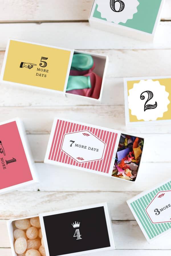 Birthday Countdown Free Printables