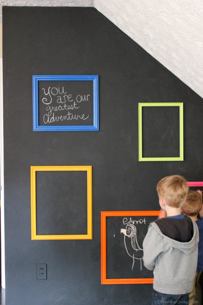 12 Creative Chalkboard Playroom Ideas