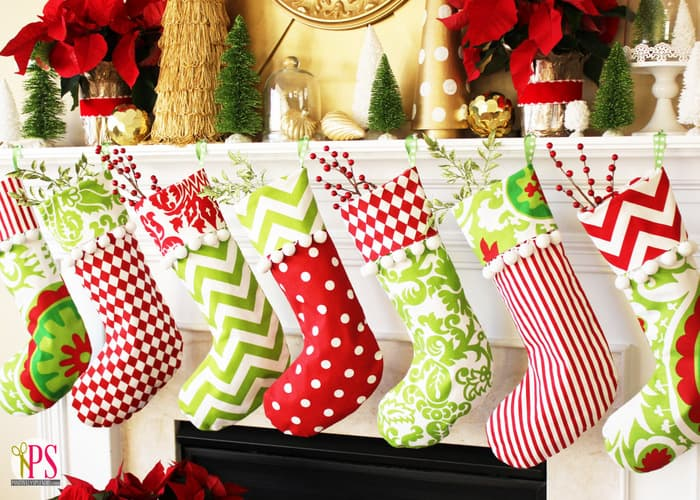8 Cheerful Diy Christmas Stockings