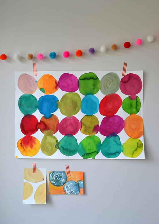 10 Cool Things To Do With Watercolor Paint For Kids