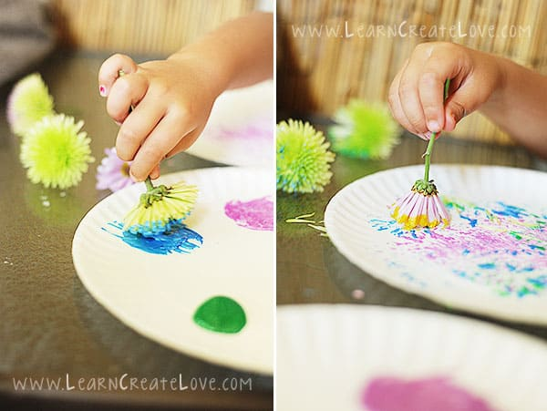 Watercolor Flowers And Paint Brushes: 10 CLEVER WAYS TO PAINT WITHOUT A PAINT BRUSH