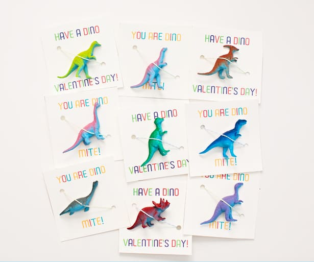 photo regarding Free Printable Dinosaur titled Incredible DINOSAUR VALENTINES Like WITH Cost-free PRINTABLE