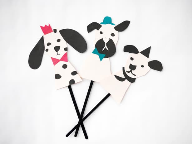 Easy Dog Hand Puppet DIY - How To Make A Paper ( Finger Puppet Dog ... | 462x615