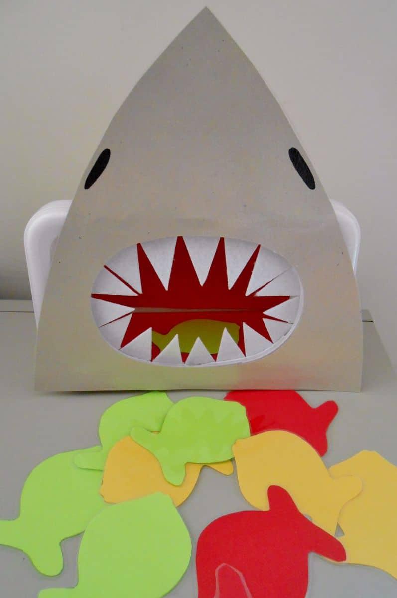 Feed the Shark Game via Sunflower Storytime
