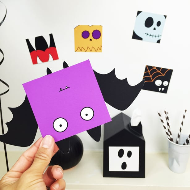 photograph relating to Printable Halloween Cards referred to as Absolutely free PRINTABLE HALLOWEEN Enjoyable Playing cards WITH COLORING Preference