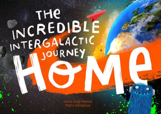 personalized space adventure book for children from lost my name