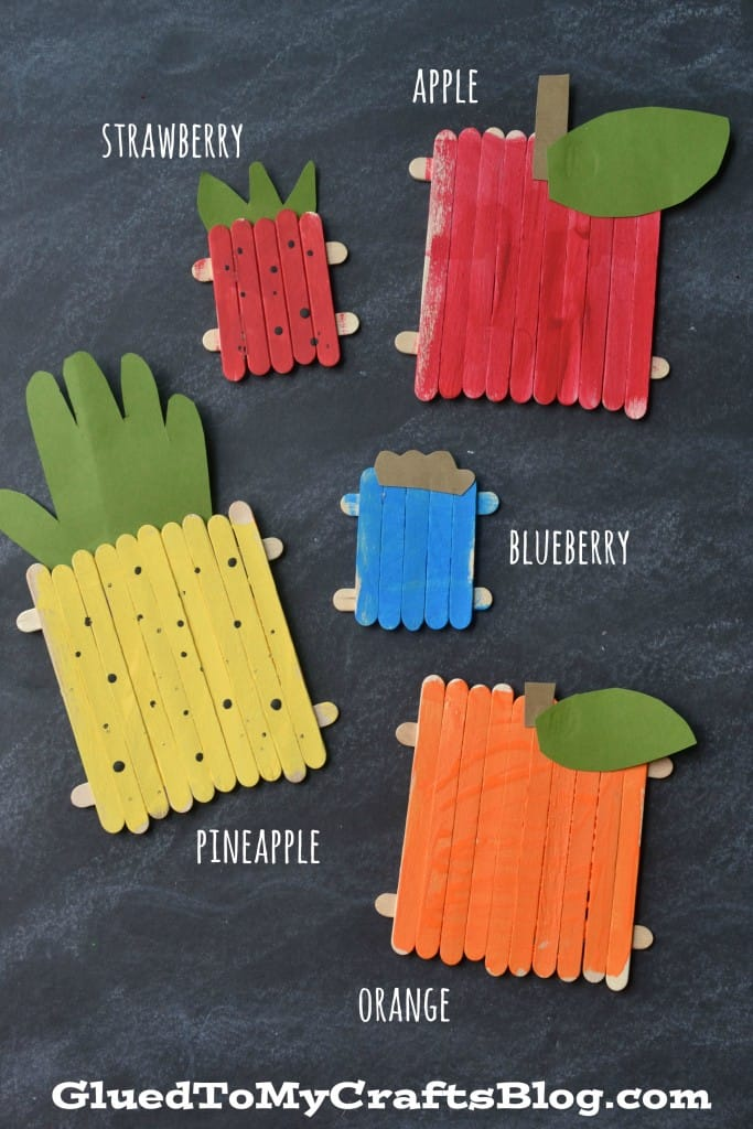 Fruits And Vegetable Crafts For Preschoolers