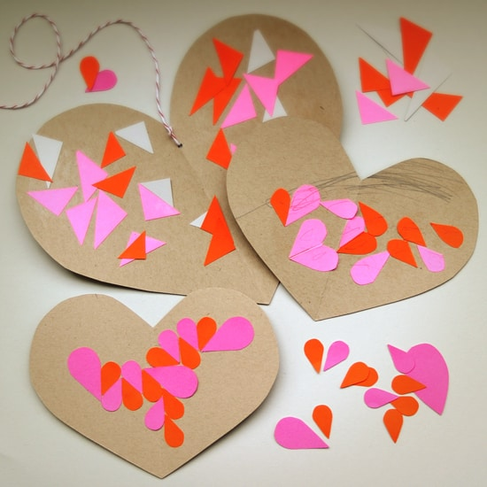 chalkboard paper valentines via babble dabble do i love this simple art project that also makes a fun craft activity make or buy heart chalks to write