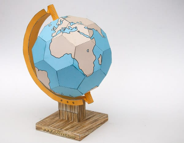 picture relating to Printable Globe named 9 Imaginative Do it yourself GLOBES In direction of Crank out FOR Entire world Working day