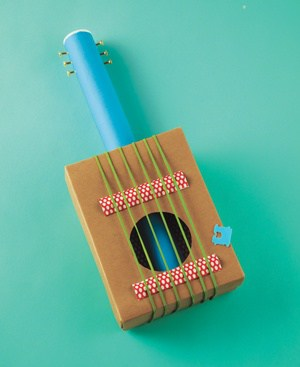 10 simple music instruments kids can make for Fun things to build with household items