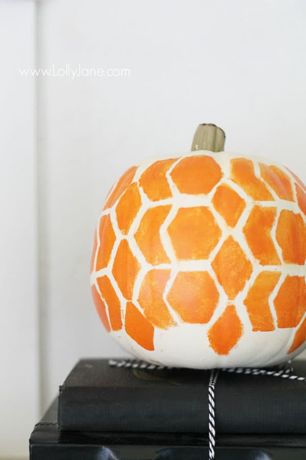 15 simple no carve pumpkin decorating ideas for Halloween pumpkin painting templates