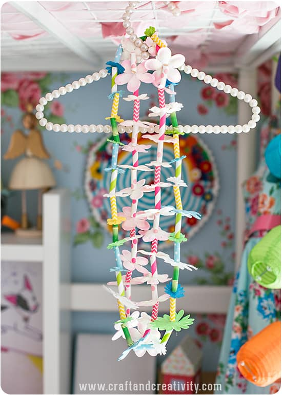 Make Paper Straw Party Leis