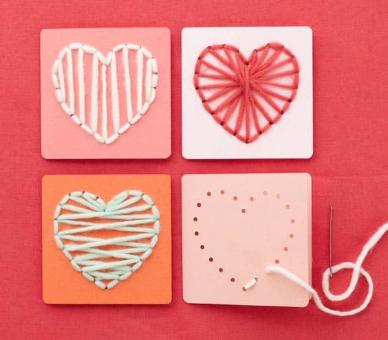 hello, wonderful - 12 simple and sweet valentine's day crafts, Ideas