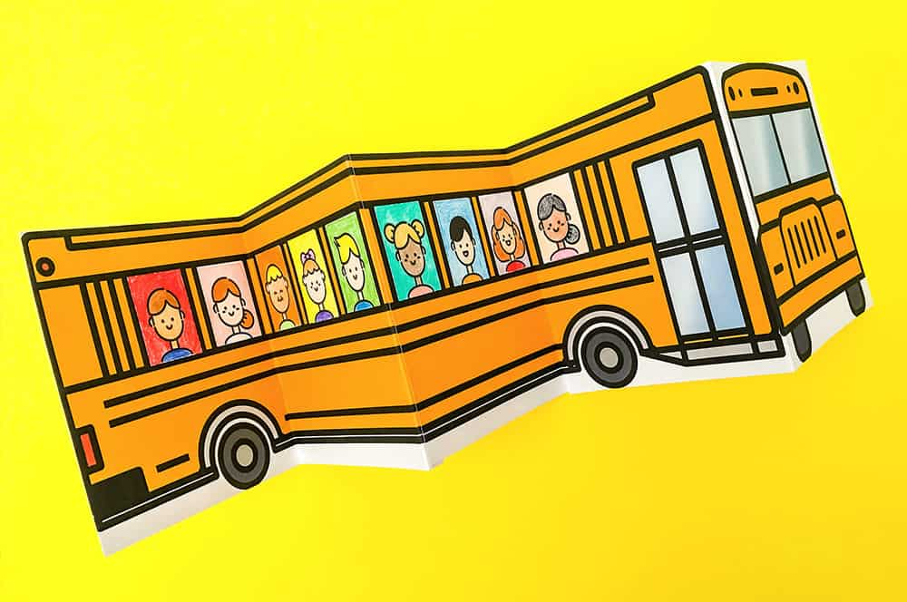 image regarding Bus Printable named College BUS OF Buddies Cost-free PRINTABLE