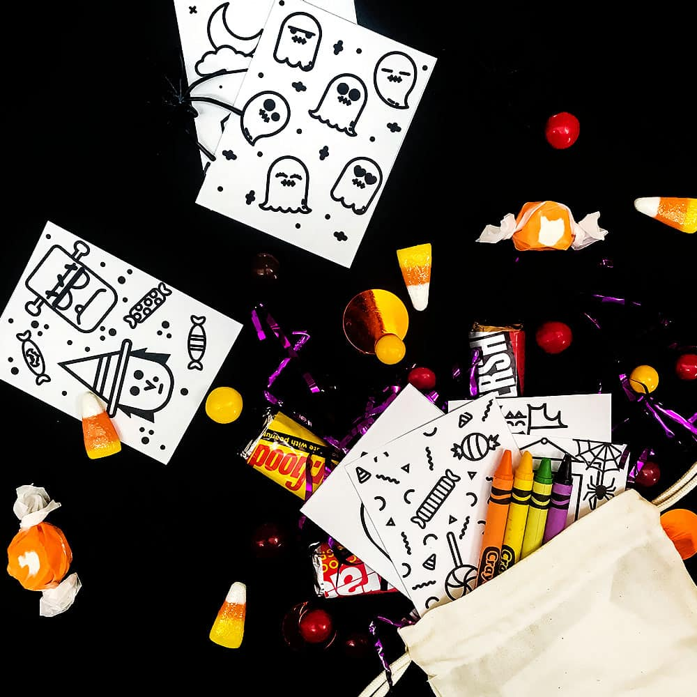 hello wonderful diy mini halloween doodle books with free