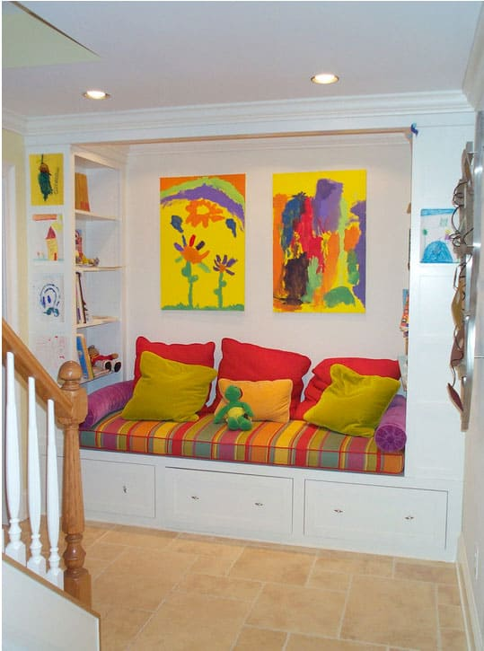 Create A Comfortable Reading Nook With These 10 Seating Ideas: 15 COZY AND CREATIVE READING NOOKS FOR KIDS