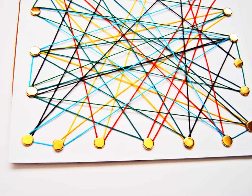 Creative String Art Idea