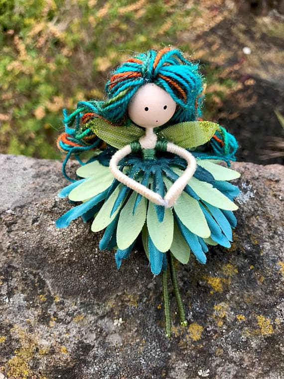 Check My Credit >> BEAUTIFUL HANDMADE FLOWER FAIRY DOLLS