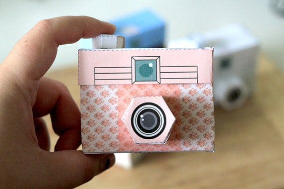 Cute Printable Paper Cameras