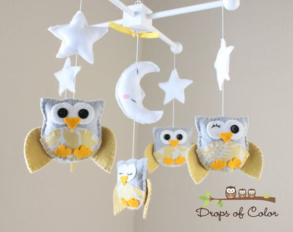 For More Nursery Mobile Ideas Check Out 8 Chic Baby Mobiles