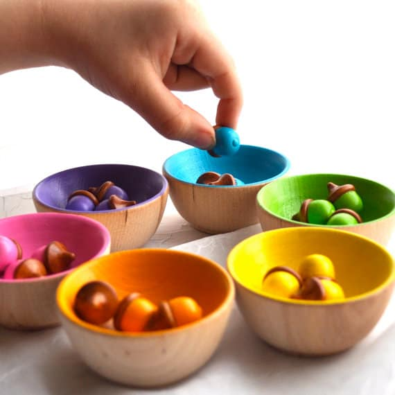 Waldorf inspired wooden toys - Material waldorf ...