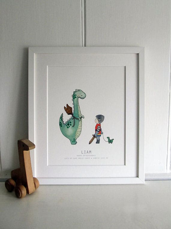 For more nursery art inspiration see 8 unique nursery wall art ideas