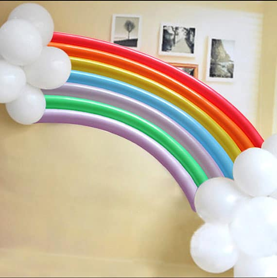 12 Colorful Rainbow Party Ideas