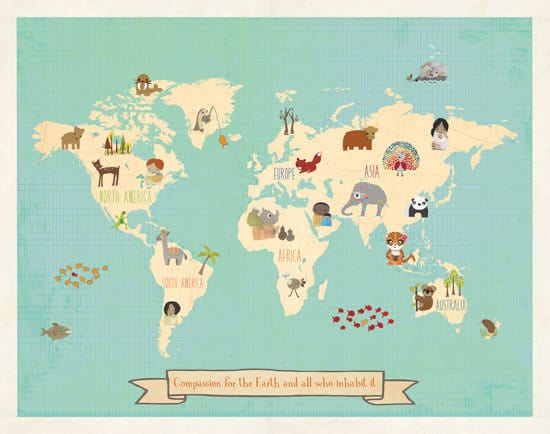 Hello Wonderful MAKE GEOGRAPHY FUN FOR KIDS WITH THESE - Geography map for kids
