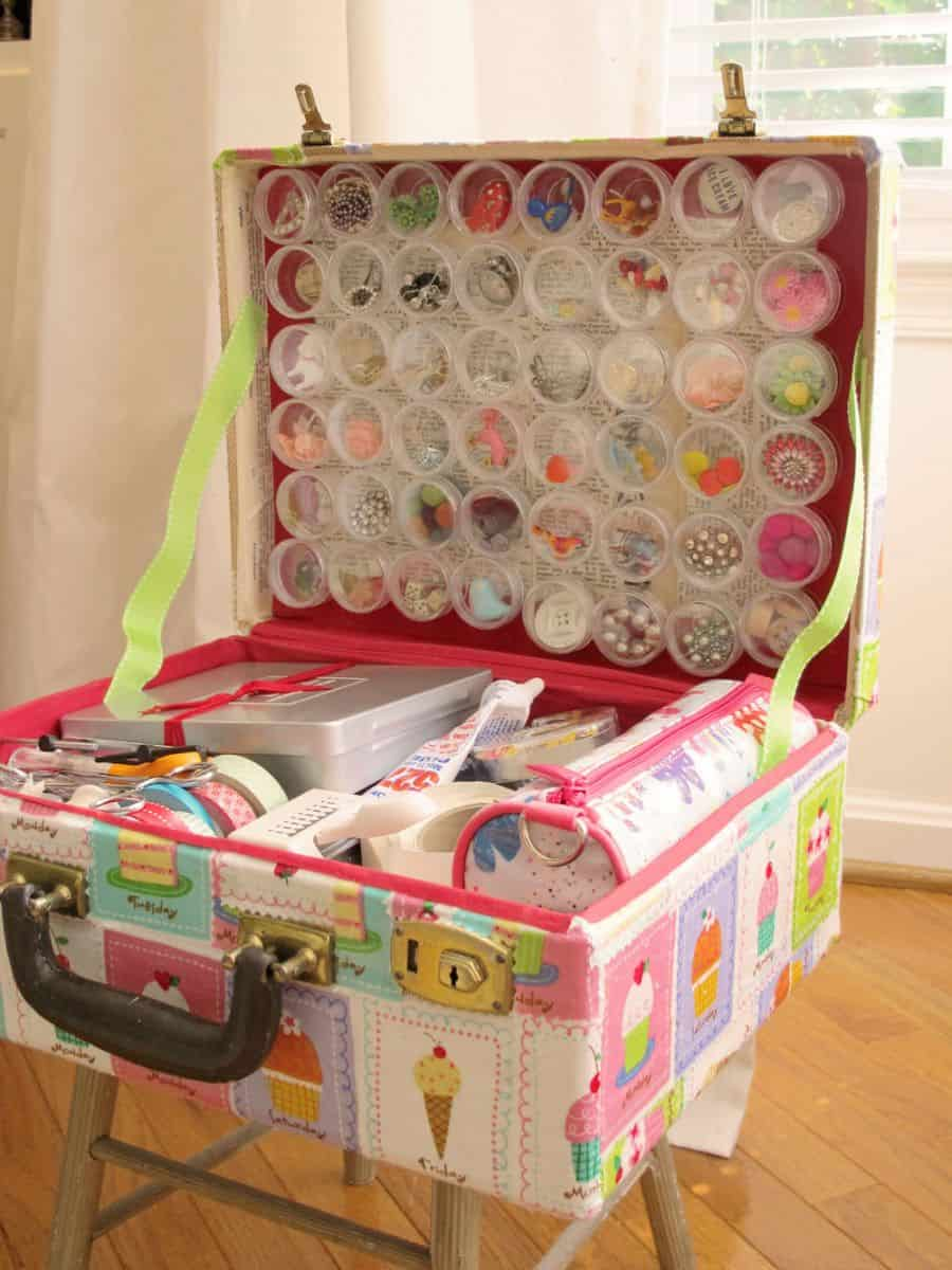 hello, Wonderful - 6 WAYS TO UPCYCLE VINTAGE SUITCASES FOR KIDS