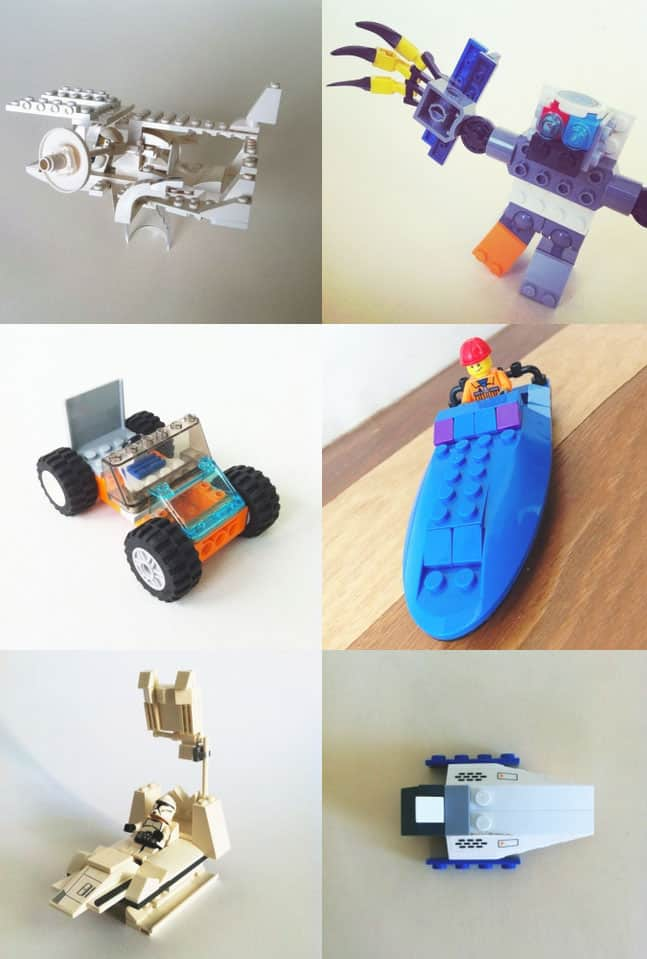A fun site that feature kids lego creations for Creative lego ideas