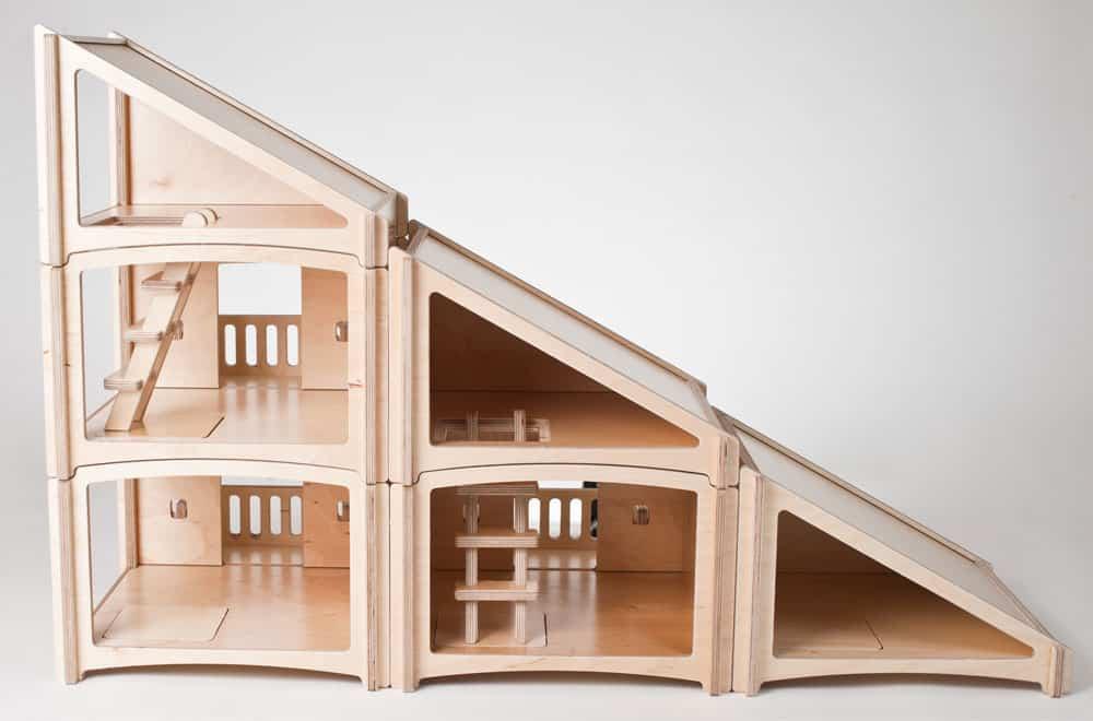Modern dollhouse kits