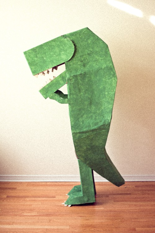 f8a767612 Take a look at these incredible (but quite doable) DIY Halloween costumes  for kids made from cardboard. Once the party's over, you can feel good  about ...
