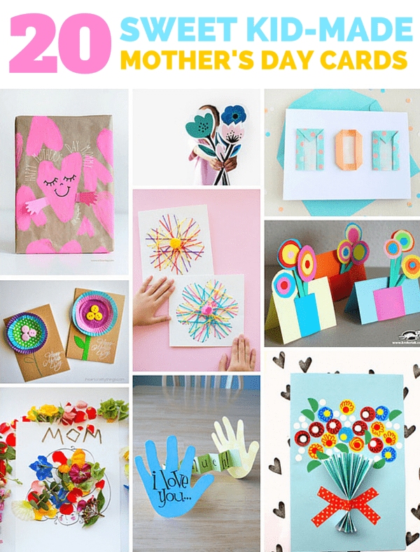 20 Sweet Kid Made Mother S Day Cards