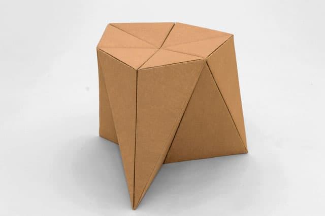 Foldschool printable cardboard furniture for kids for How to make a dresser out of cardboard