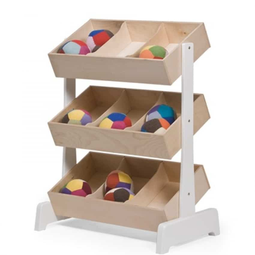 8 modern toy containers - Etagere rangement jouet ...