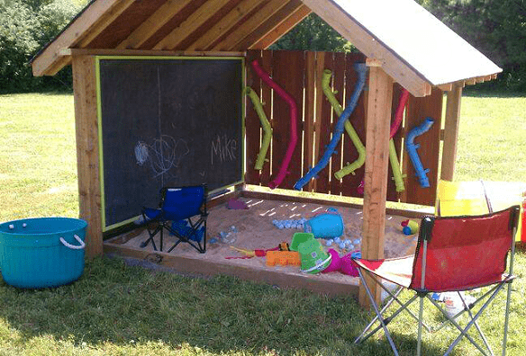 Awesome outdoor play space for kids. | Preschool ideas