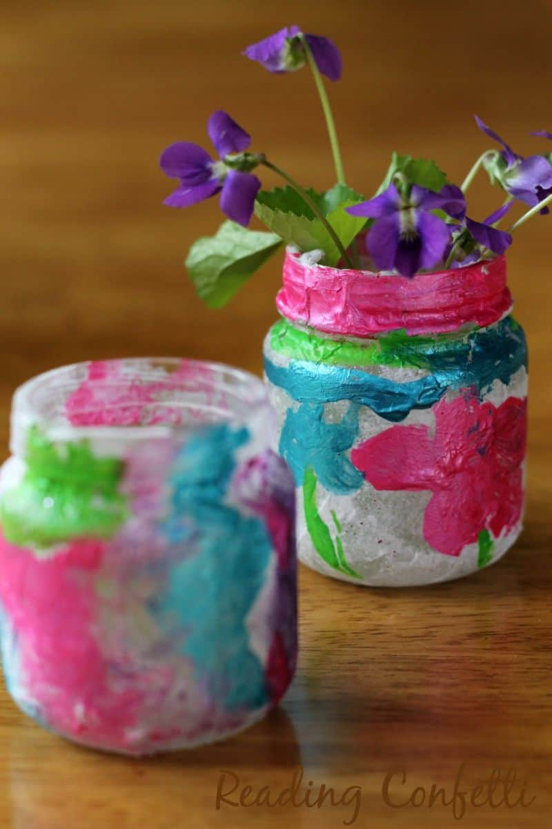 vase craft ideas hello wonderful 10 gorgeous tissue paper projects 3179