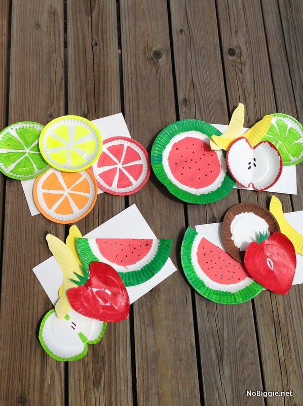 Kids Will Love Painting Plates In Their Favorite Sweet Summer Fruits This Cute And Easy Art Project
